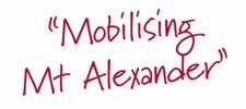 Mobilising Mt Alexander
